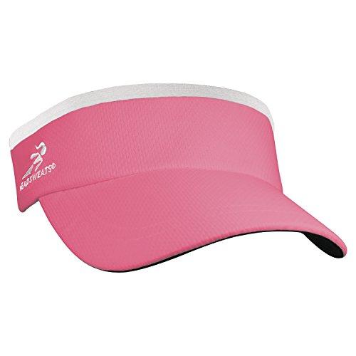 (Headsweats Supervisor Sun/Race/Running/Outdoor Sports Visor, Hot Pink, One Size)