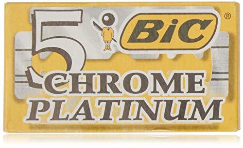 (Bic Chrome Platinum Double Edge Razor Blades - 20 Ct)