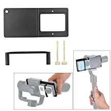 Andoer Action Camera to Gimbal Accessories Adapter Plate Mount for OSMO Zhiyun Smooth-C /Smooth-II Feiyu G4 Plus /SPG Live /G4 Pro Gimbals Work for GoPro Xiaoyi SJCAM