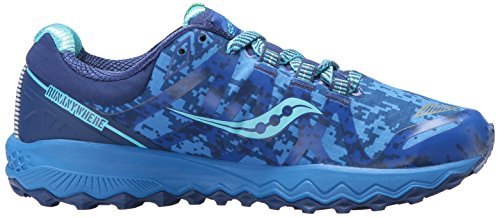 Saucony Peregrine Running Shoes Ice Blue Plus Women's 7 1O6rxR1