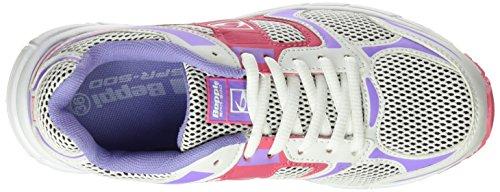 BEPPI Sport 2141970, Zapatillas de Deporte para Mujer Blanco (White)