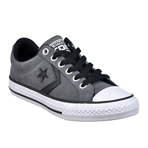 Kids Player EV Converse 11 Star Trainers Black Textile Ox UK Thunder UgPqwdqx