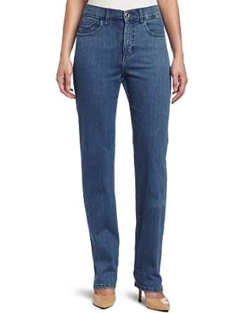 Lee Women's Classic Fit Nora Straight Leg Jean, Bluebird, 4 Short