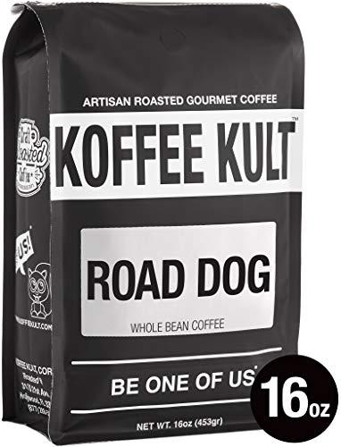 Dark Roast, Whole Bean Colombian Coffee - Koffee Kult's Award-Winning