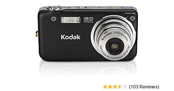amazon com kodak easyshare v1253 12 mp digital camera with 3 rh amazon com