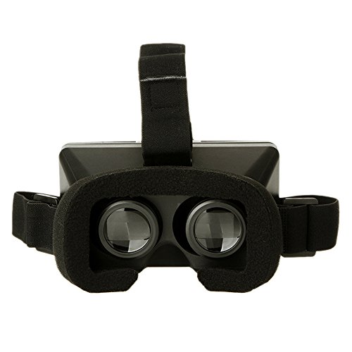 """Zytree(TM)Universal 3D VR Glasses Head-mounted Virtual Reality Google Cardboard Video 3d Glasses with Headband for All 4 ~ 6"""" Smart Phones"""