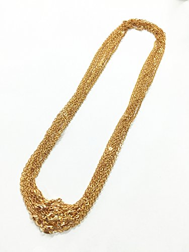 BRCbeads Plated Necklace Retention Tarnish