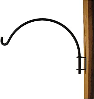 """product image for Modern Artisans 13"""" Wrought Iron Metal Swivel Plant Hanger Hook, American Made"""