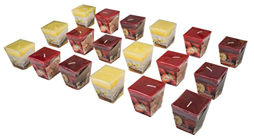 All2shop Scented Votive Candles Apple Cinnamon product image