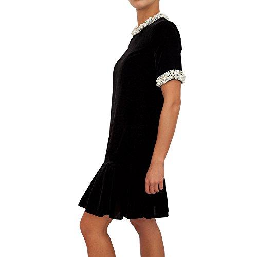 22369 Damen blugirl Schwarz Kleid Kurzes qgYWxzO