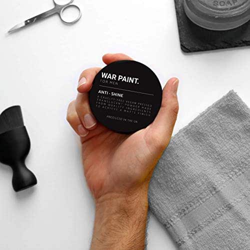 War Paint Men's Anti-Shine Powder Matte Finish …
