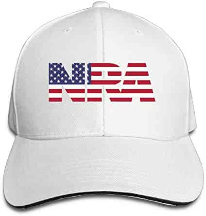 69df17f15e3 NRA National Rifle Association American Flag Youth Baseball Hat Retro  Peaked Snapback Cap