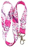 Premium Lanyard Cartoon Themed - Hook & Phone String - Keychains or ID Badge Holders, Marie The Aristocats, One Size