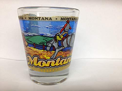Shot Glass Montana (Montana State Wraparound Shot Glass)