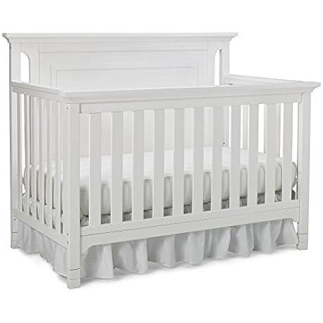 Ti Amo Carino 4 In 1 Convertible Crib Snow White