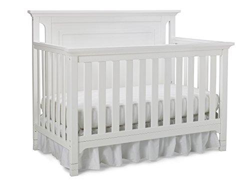 Ti Amo Carino 4-in-1 Convertible Crib, Snow White