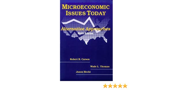 microeconomic issues today