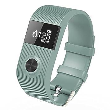Montre Connectée Iphone Android Smartwatch SMS Autonomie 10 Jours Gris