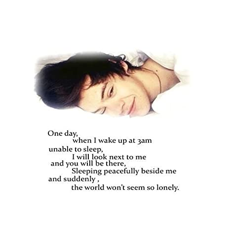 Bingirl Soft Cotton Harry Styles One Direction Quotes Custom Pillowcase  20x30 One Side