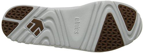 Etnies LO-CUT SC - Zapatillas De Skate de cuero hombre blanco - Weiß (WHITE/LIGHT GREY/135)