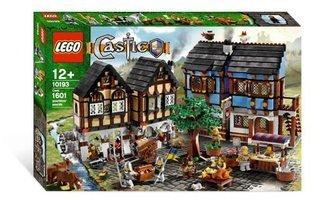 Village Market (Lego Castle Medieval Market Village 10193 LEGO parallel import goods)