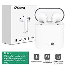 Bluetooth Earphones,Audiab Wireless Headset Bluetooth Mini in-Ear Earphones Multifunction with 2 True Wireless Headphone for Apple iPhone X/8/7/6/6s Plus,Android, Samsung and More Device