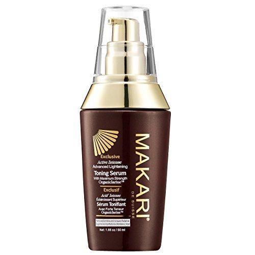 Makari Exclusive Skin Toning BODY Serum 1.7oz - Lightening, Brightening & Toning Body Serum with Organiclarine -Advanced Whitening Treatment for Dark Spots, Scars, Sun Patches & Hyperpigmentation