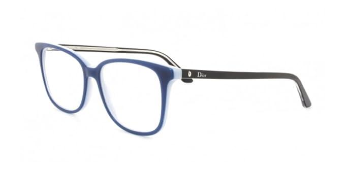 Christian Dior MONTAIGNE27 SGL 53, Montures de Lunettes Femme, Blue Black d9c49365804b