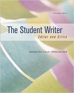 Writer and editor