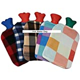 1 Pack of Hot Water Bottle Bag for Pain Relief Random Design for Hot Therapy Relieve Pain and Cramp