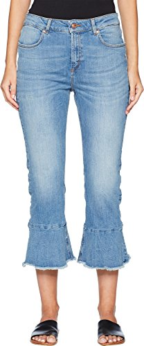 Escada Sport Women's J834 Flare Jeans Medium Blue 44 25