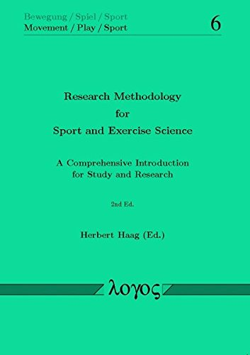 Download Research Methodology for Sport and Exercise Science (Bewegung / Spiel / Sport) pdf epub