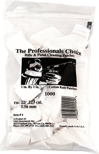 Professionals Choice Cotton Cleaning Patches