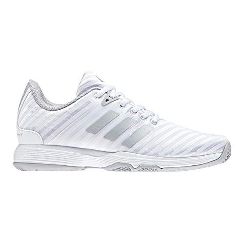 Adidas Vrouwen Barricade Rechter W Tennisschoenen, Beige Wit (ftwbla / Plamat / Gridos 000)