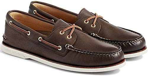 Sperry Mens Gold A/O 2-Eye Boat Shoe