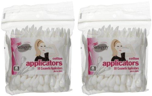 Swisspers Premium Cosmetic Applicators - 80 ct - 2 (Cosmetic Applicators)