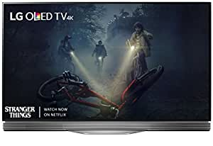 LG Electronics OLED55E7P 55-Inch 4K Ultra HD Smart OLED TV (2017 Model)
