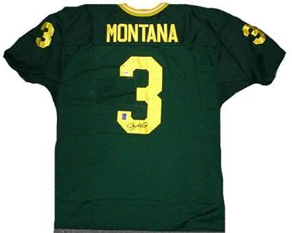 meet 4184f 038f8 Amazon.com: Joe Montana Signed PSA/DNA Notre Dame Jersey ...
