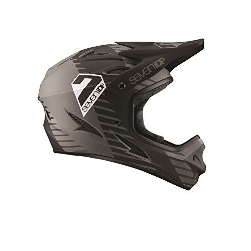 7iDP M1 Full Face Mountain Bike BMX Helmet Tactic Matt Black/Graphite M (56-58CM)