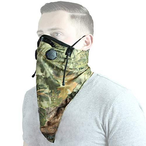 (ATV Tek Comfortable and Washable Bandana Style Dust Mask (Camo, One Size))