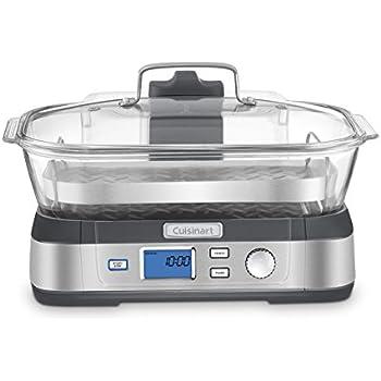Cuisinart STM-1000 CookFresh Digital Glass Steamer, Stainless Steel