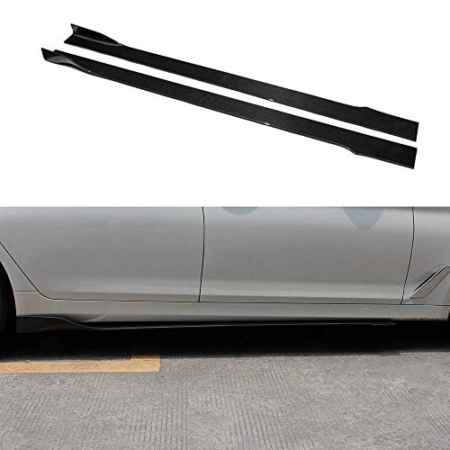 Real Carbon Fiber Side Skirts Extension For BMW All Model F10 F12 F15 F85 F86 F30 F32 F33 F36 F87 E90 E92 E93 (Style B)