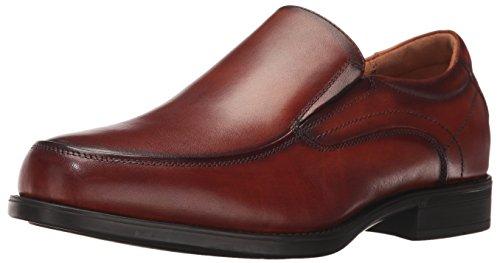 Florsheim Men's Medfield Moc Toe Slip-On Loafer, Cognac, 9.5 3E US by Florsheim