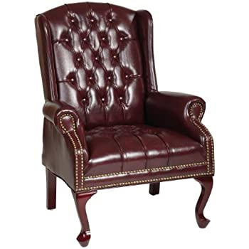 Amazon Com Boss Office Products Wingback Traditional