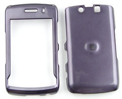 Blackberry Storm 2 9550 Honey Metalic Gray Snap On Cover, Hard Plastic Case, Face cover, Protector (Hard Case Cover 9550)