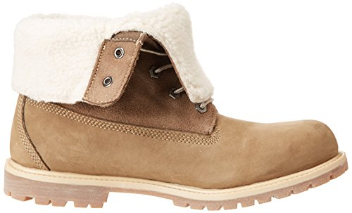 Auth Flce Marron Tedy Femme Timberland Wp Boots taupe Nubuck BgUqwndP