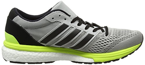 Gris Yellow core Boston Adidas Running Black Femme W Chaussures De solar grey 6 Adizero Two UPH6qw81