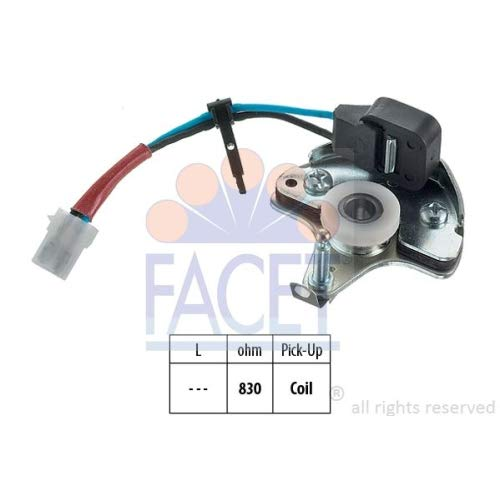 Facet 8.4980M Sensor, ignition pulse
