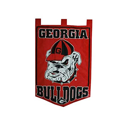 size 40 21a1b 155ad Game Day Outfitters NCAA Georgia Bulldogs Garden Flag, One Size, Multicolor
