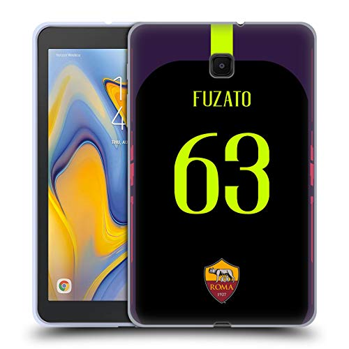 - Official AS Roma Daniel Fuzato 2018/19 Players Away Kit Group 2 Soft Gel Case Compatible for Galaxy Tab A 8.0 (2018)